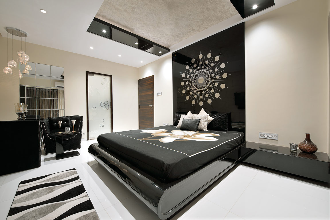1 bhk flat interior design india - Affordable Normal Indian Bedroom Designs With Bedroom Interiors India